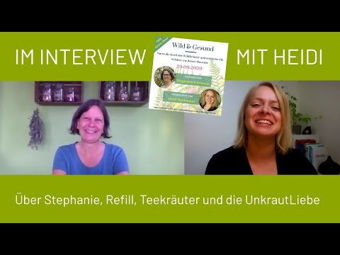 Interview Stephanie Wiermann   Online Show Wild & Gesund 29.09.2020