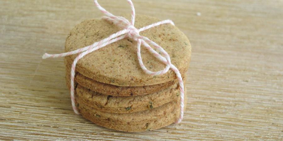 Kräuter Kekse mit Wildkräutern